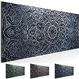 Bilder - Wandbild - Vlies Leinwand - 100 x 40 cm - Mandala Bild - Kunstdrucke - mehrere Farben und Größen im Shop - Fertig Aufgespannt !!! 100% MADE IN GERMANY !!! - Orient Abstrakt 109412c