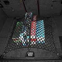Pavimento/stile busta 6gancio auto Organizer Universale in rete di nylon per bagagliaio auto adatta alla maggior parte SUV Berline e dell' auto in