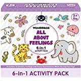 WONDRBOX Activity Box for 4 5 & 6 Year Old Baby Boys & Girls – Learning & Educational Gift Pack of Play-Based Explorer Toys,