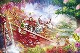 1000 pieza de rompecabezas objetivo! Rompecabezas maestro del arte fantaestico Asuka cuadro de desplazamiento (50x75cm)