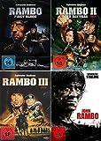 Rambo 1-4 dvd Set, Collection, Bundle 1,2,3,4 Sylvester Stallone