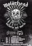 Generic Motorhead Bad Magic 2016 UK Tour Foto Print Poster 40. Jahrestag CD Shirt 04 A5