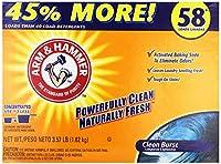 Arm & Hammer Powder Laundry Detergent Clean burst 35% more 3. 57 lbs 54 loads