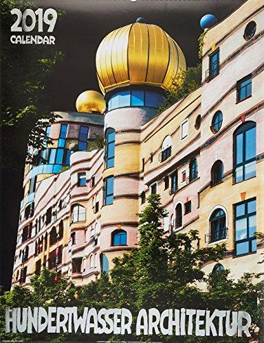 Großer Hundertwasser Architektur Kalender 2019: Das Original