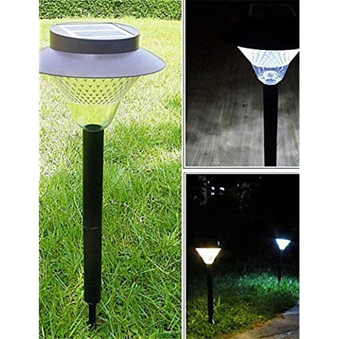 ASNSWDC® HHR @ esterna solare 16 LED Luce giardino cantiere percorso lampada di paesaggio di energia verde
