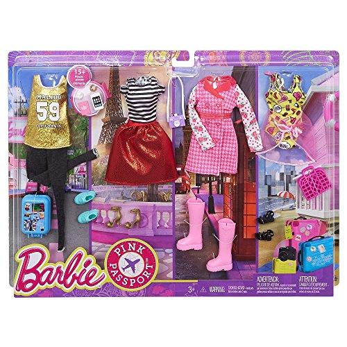 Barbie Pink Passport Ropa Barbie Accesorios Muñecas