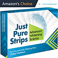 Dentist Teeth Whitening Strips - Best Advanced Professional 3d Whitestrips - At Home Tooth Whitener Kit - Pack of 28 (14 day Course) - Zero Peroxide Gel Products - No Powder Syringes or Toothpaste