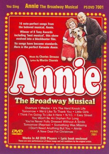 Pocket Songs Karaoke DVD PS7001 - Annie - The Broadway Musical