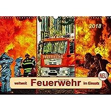 Feuerwehr - weltweit im Einsatz (Wandkalender 2018 DIN A3 quer): Täglicher Einsatz voller Gefahren zum Wohle der Allgemeinheit. (Monatskalender, 14 ... [Kalender] [Apr 07, 2017] Roder, Peter