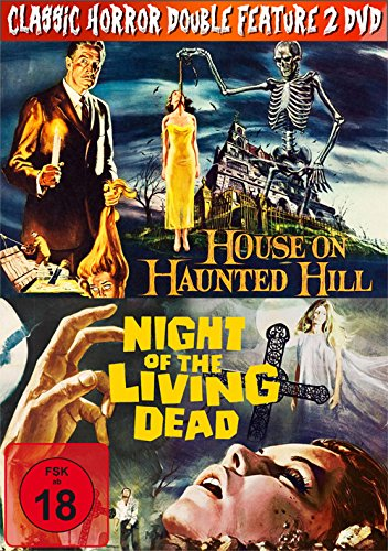 Classic Horror Double Feature: House on Haunted Hill/ Night of the Living Dead [2 DVDs] (Haunted-house-film)