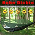 AMZQJD Ultraleichte Moskito Netz Camping Hängematte Outdoor 300kg Tragfähigkeit von AMZQJD auf Gartenmöbel von Du und Dein Garten