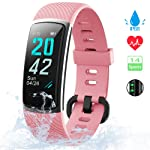 KUNGIX Orologio Fitness Tracker Uomo Donna Smartwatch Android iOS Cardiofrequenzimetro da Polso Fitness Activity Tracker...