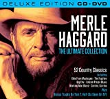 Merle Haggard The Ultimate Collection (Deluxe Edition CD/DVD) with Bonus Material Featuring Tom T Hall (All Region DVD/N