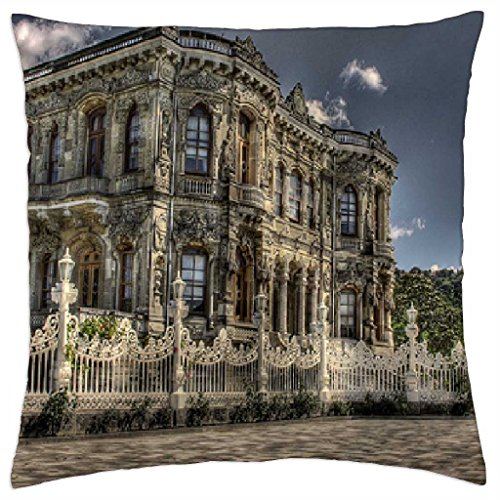 Summer Palace of Ottoman Sultans - Throw Pillow Cover Case (18\