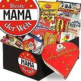 Beste Mama der Welt ♥ Schokolade Box ♥ mit Herz-Box ♥ Geschenk für Mama die alles hat Geschenk für Mutter zum Geburtstag Geschenke für Mama zum 60. Geburtstag Geschenk für Mama 50. Geburtstag