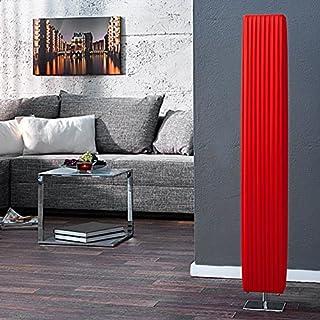 Stehlampe ESPERANCE Rot Chrom 120cm Art déco Design - Designer Stehleuchte von ambientica