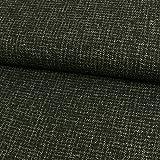 Bouclé Stoff schwarz-grau Mantelstoff - Preis gilt für