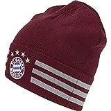 ADIDAS Kinder FC Bayern 3-Streifen Woolie, Collegiate Burgundy/Light Onix, OSFY
