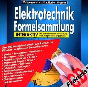 Elektrotechnik-Formelsammlung interaktiv