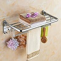 BBSLT Semplice moda, creative bagno Asciugamani, cromati in acciaio inox,