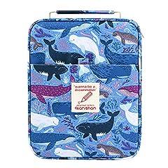 Idea Regalo - Qianshan - Astuccio per la cancelleria, può contenere fino a 100-150 penne o matite colorate dolphin