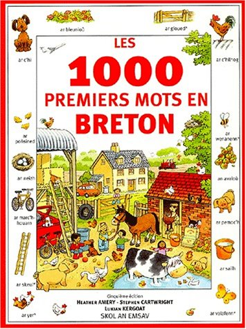 Les 1000 premiers mots en Breton. 5 ème Edition par Heather Amery