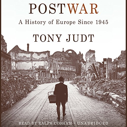 Postwar: A History of Europe Since 1945  Audiolibri