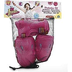 Giochi Preziosi YLU02111 - Set protección Soy Luna, talla S/M/L, color rosa