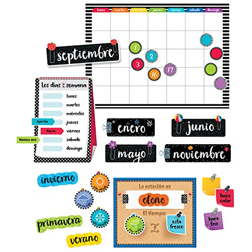 Creative Teaching Press Spanischer Kalender Bulletin Board Set (8474)
