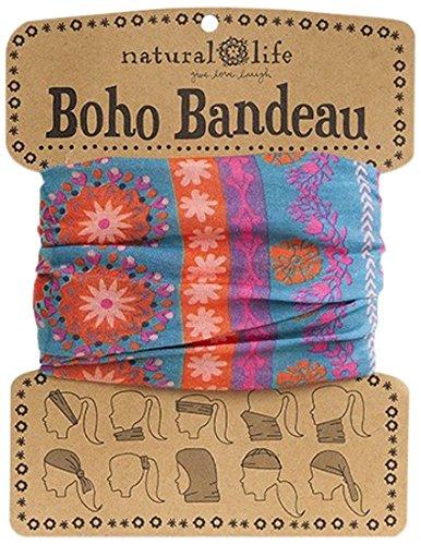 Natural Life Boho Bandeau Band, Pink/Purple by Natural Life