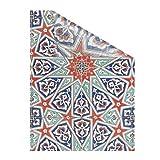 Lichtblick Fensterfolie selbstklebend, Sichtschutz, Motiv Mosaik, Bunt in 100 x 180 cm (B x L)