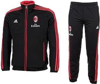 Adidas Tuta Allenamento AC Milan 2012/13 JUNIOR Boy RAGAZZO Prodotto Ufficiale