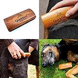 Hundebürste für eine besonders sanfte und wirkungsvolle Fellpflege. Optimal für