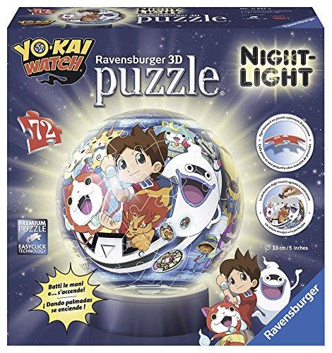 yo-kai watch-Ravensburger Puzzle Lampe (11827) - Juego über