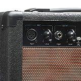 Stagg 20 AA R EU Amplificateur de Guitare Acoustique avec Spring Reverb 20 W Noir