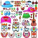Photo Booth Requisiten Hawaiian 46Stück für Party Dekorationen - Best Reviews Guide