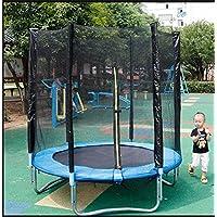 Preisvergleich für Wly&Home Garten-Sprossen, Kinder-Trampolin, Volles Trampolin, Sicherheitsnetz, Gefüllte Netzsäule und Randabdeckung 180Cm Im Durchmesser