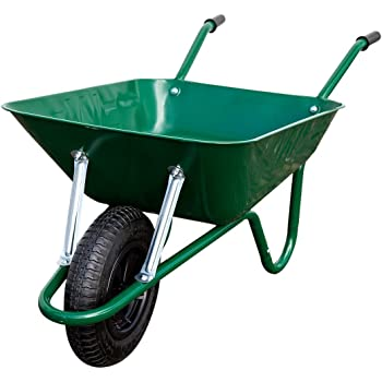 90L Galvanised Wheelbarrow Tray Pan Body Replacement Spare Parts DIY Heavy Duty