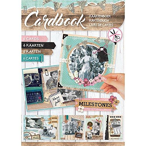 Studio Light Vintage Karte Buch, Mehrfarbig -