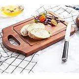 Fancy Shoppeee Wooden Pizza Plate/Board/Racket, Round, Slim, 10 Inch, Brown