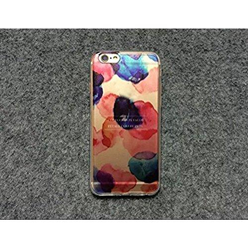 TPU Cover per iPhone 6S, Custodia per iPhone 6, Bonice Paesaggio Scenario Creativa Cover Ultra sottile Silicone Morbido Flessibile TPU Gel Protettivo Skin Caso Custodia Protettiva Shell Case Cover Per Cristallo-Cover-11