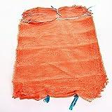 100 Raschelsäcke Obstsäcke Gemüsesäcke Kartoffelsäcke Sack Säcke Zugband 25kg 50x78cm -