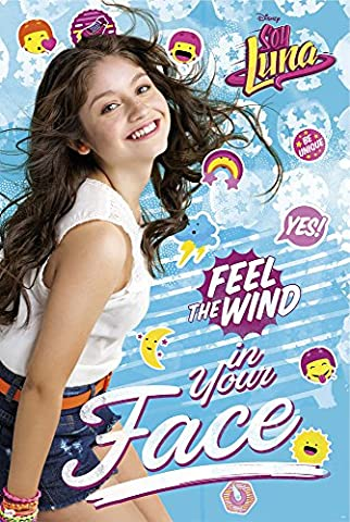 Soy luna - Feel the wind - Filmposter Kino Movie