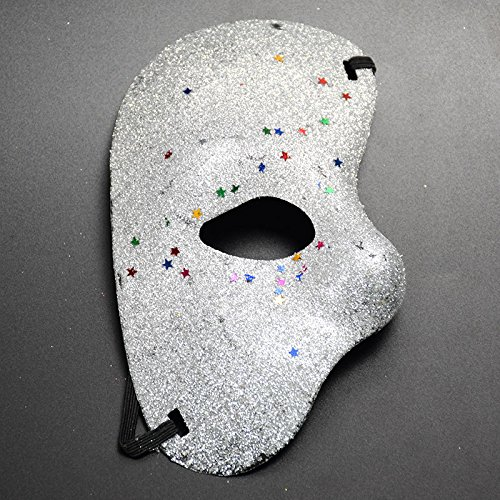 Shuda Halbes Gesicht Masken Damen Halloween Verkleidung Maskerade -