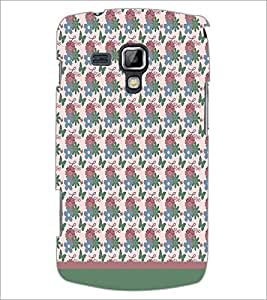PrintDhaba Love pattern D-1821 Back Case Cover for SAMSUNG GALAXY S DUOS S7562 (Multi-Coloured)