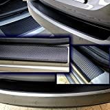 Einstiegsleisten Lackschutzfolie Schutzfolie 3D CARBON Folie T/üreinstiege Einstiege 2166