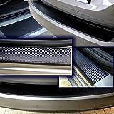SparSet Ladekantenschutz & Einstiegsleiste Schutzfolie CARBON 3D Auto Folie Lackschutz 10071-2119