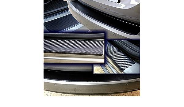 Nissan Qashqai  J10 Einstiegsleisten Lackschutzfolie Schutzfolie 3D Carbon 2118