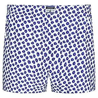 Jockey Re-Active Blue Flower Woven – Boxer