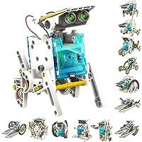 HS INTERNATIONAL Educational 13 in 1 Solar Robot Kit Toys for Kids Learning Purpose Robotic Kit (13 in 1 Solar Robot Kit…